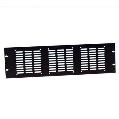 Adam Hall 8765 19 inch ventilatiepaneel voor 3 ventilatoren 3 HE
