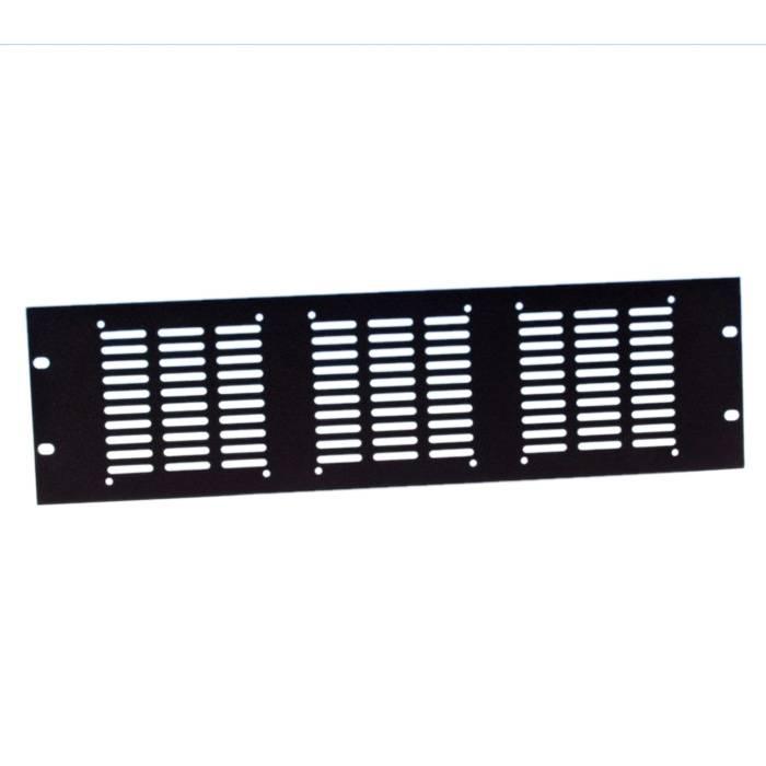 Image of Adam Hall 8765 19 inch ventilatiepaneel voor 3 ventilatoren 3 HE