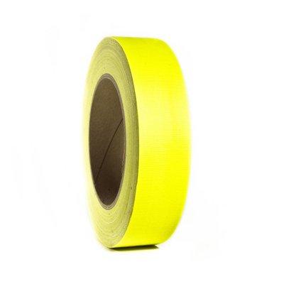 Adam Hall Gaffa tape neon 38mm 25m geel