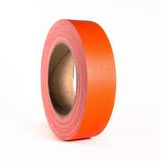 Adam Hall Gaffa tape neon 38mm 25m oranje