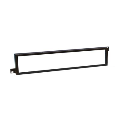 Adam Hall 19 inch safetypaneel met plexiglas 2 HE