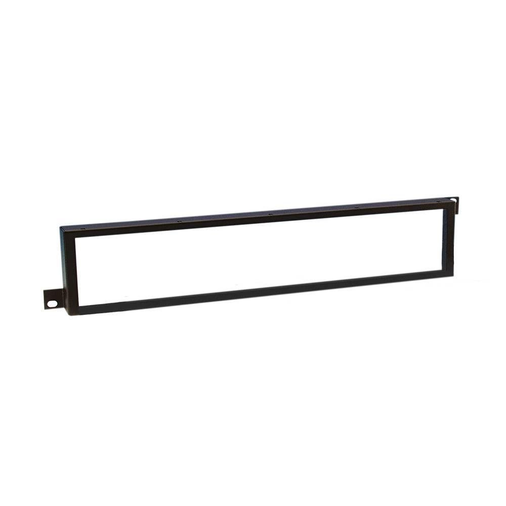 Image of Adam Hall 19 inch safetypaneel met plexiglas 2 HE