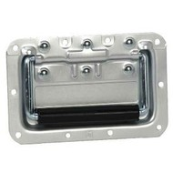 Adam Hall 34082A Inbouw handvat normaal aluminium 8mm