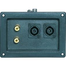 JB Systems TE-20 Aansluitpaneel