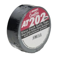 Advance AT202 gaffa tape 50mm 50m zwart