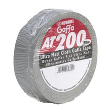 Advance AT200 gaffa tape 50mm 50m grijs