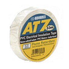 Advance AT7 PVC tape 19mm 33m wit