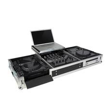 ProDJuser CDJ-15MKII Flightcase voor 2x CDJ-2000 en DJM-900 met laptop plateau