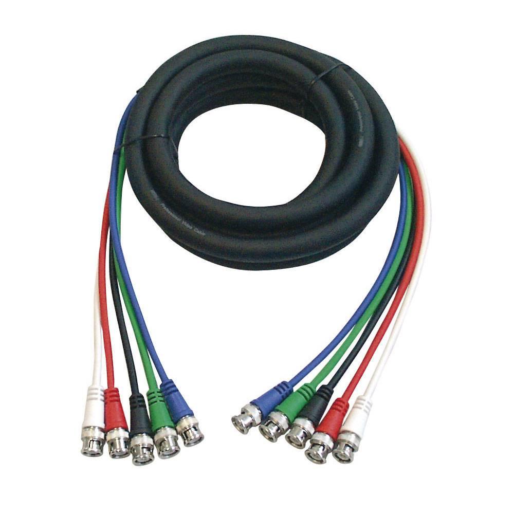 Image of DAP FV05 5x BNC-kabel 150cm