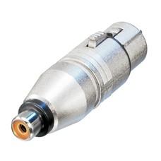 Neutrik NA2FPMF XLR female naar RCA female adapter