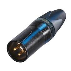 Neutrik NC3MXX-B Male XLR kabeldeel 3p zwart