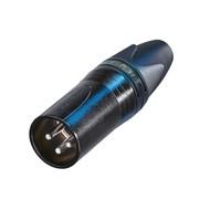 Neutrik NC3MXX-BAG Male XLR kabeldeel 3p zwart