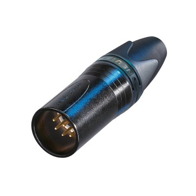 Neutrik NC7MXX-B Male XLR kabeldeel 7p zwart