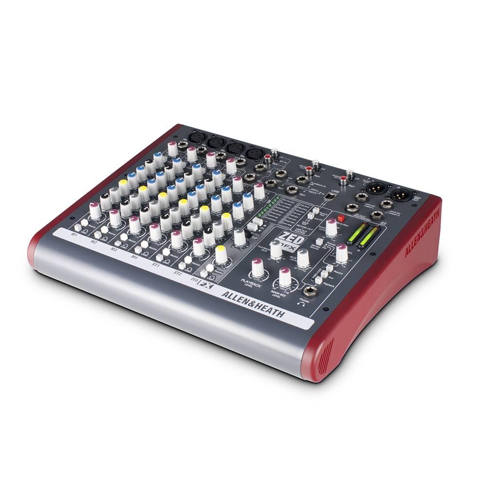 Image of Allen & Heath ZED10FX PA mixer met effecten