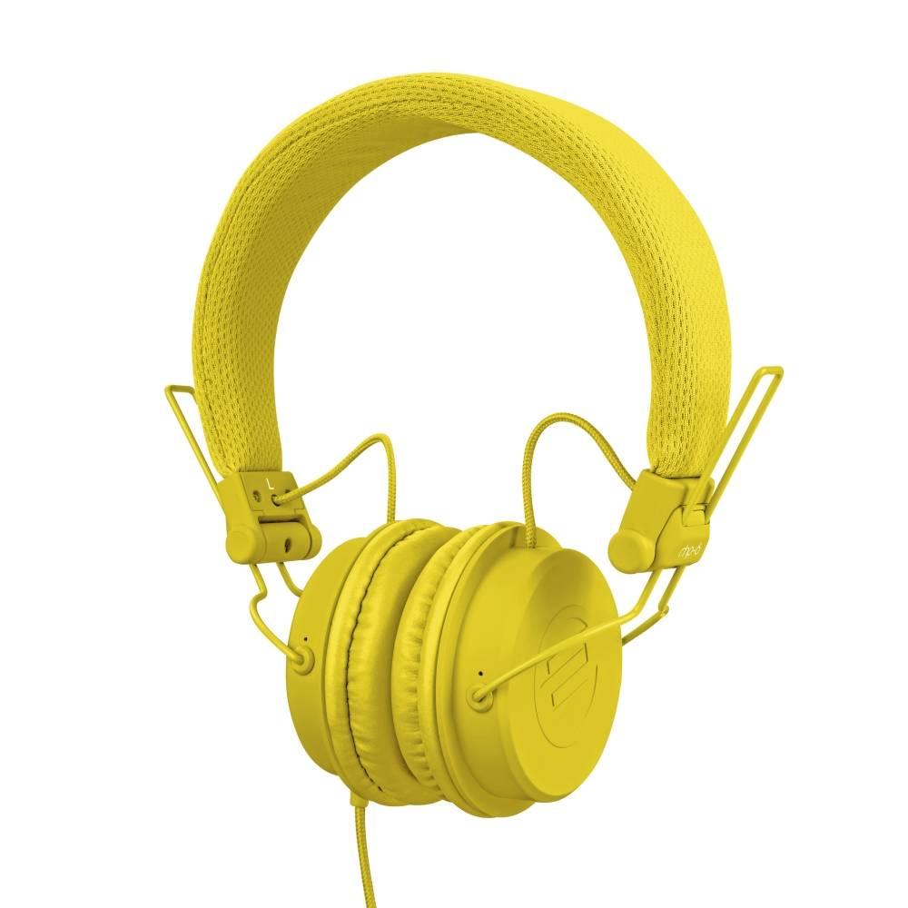 Image of Reloop RHP-6 DJ hoofdtelefoon geel