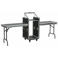 Power Dynamics PD-F16U10T 19 inch flightcase met tafels