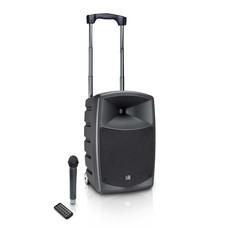 LD Systems Road Buddy 10 mobiele accu geluidsset met draadloze microfoon