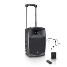 LD Systems Road Buddy 10HS mobiele accu geluidsset met draadloze headset
