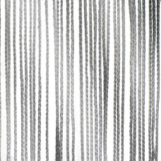 Showtec Pipe and drape spaghetti koordgordijn 300x300cm grijs