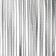 Showtec Pipe and drape spaghetti koordgordijn 300x600cm grijs