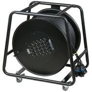 DAP CobraX multikabel op haspel 16 in 4 uit 50m