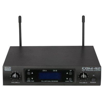 DAP COM-42 Dubbel draadloos microfoonsysteem