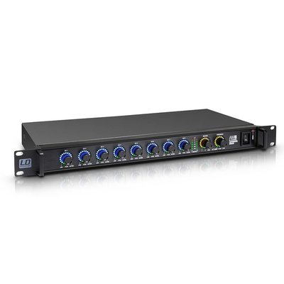LD Systems AM8 8-kanaals digitale 19 inch mixer
