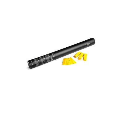 MagicFX Handheld Confetti Cannon 50cm geel
