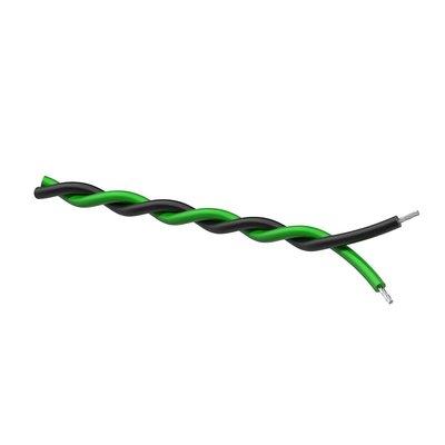 Procab PR4305 Luidsprekerkabel 2x0.25mm 100m groen/zwart