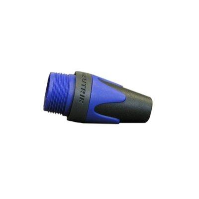 Neutrik BXX6 gekleurde tule voor XLR plug blauw