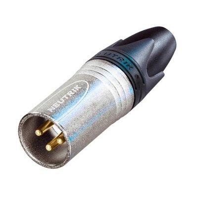 Neutrik NC3MXX EMC Male XLR kabeldeel 3p