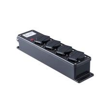 Keraf 15ZLED 4-weg slagvaste verdeeldoos met LED-indicator