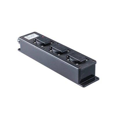 Keraf 16ZLED 3-weg slagvaste verdeeldoos met LED-indicator