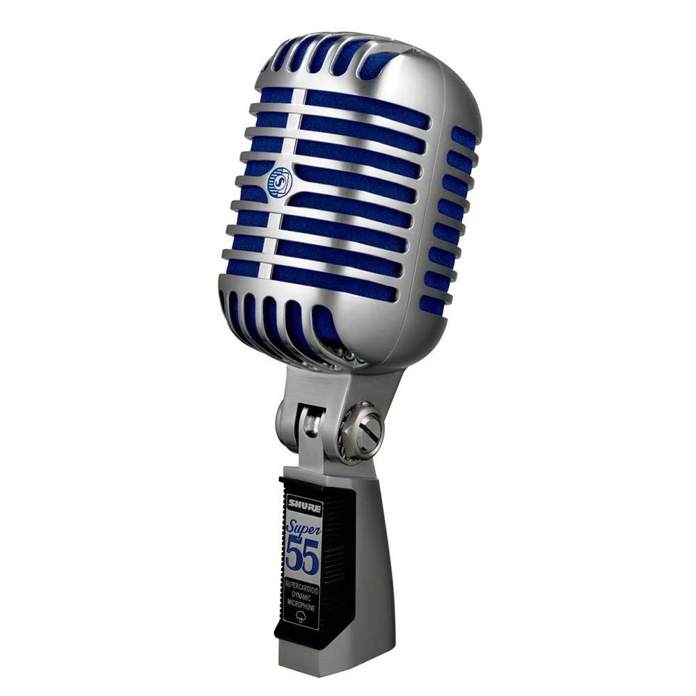 Shure Super 55 Deluxe Vintage Dynamische zangmicrofoon