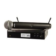 Shure BLX24R-SM58 Draadloos handheld microfoonsysteem (rackmount)