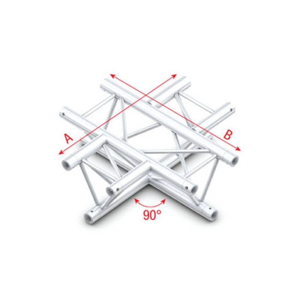 Image of Showtec FT30 Driehoek truss 016 4-weg kruis 90g
