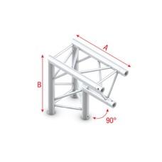 Showtec PT30 Driehoek truss 007 Hoek 90g apex down