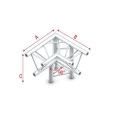 Showtec GT30 Driehoek truss 012 3-weg hoek 90g