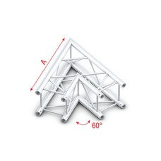 Showtec FQ30 Vierkant truss 002 hoek 60g