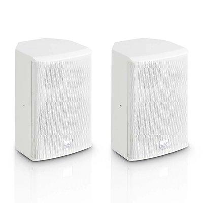LD Systems SAT62G2W passieve installatie luidspreker 6,5 inch wit (set van 2)