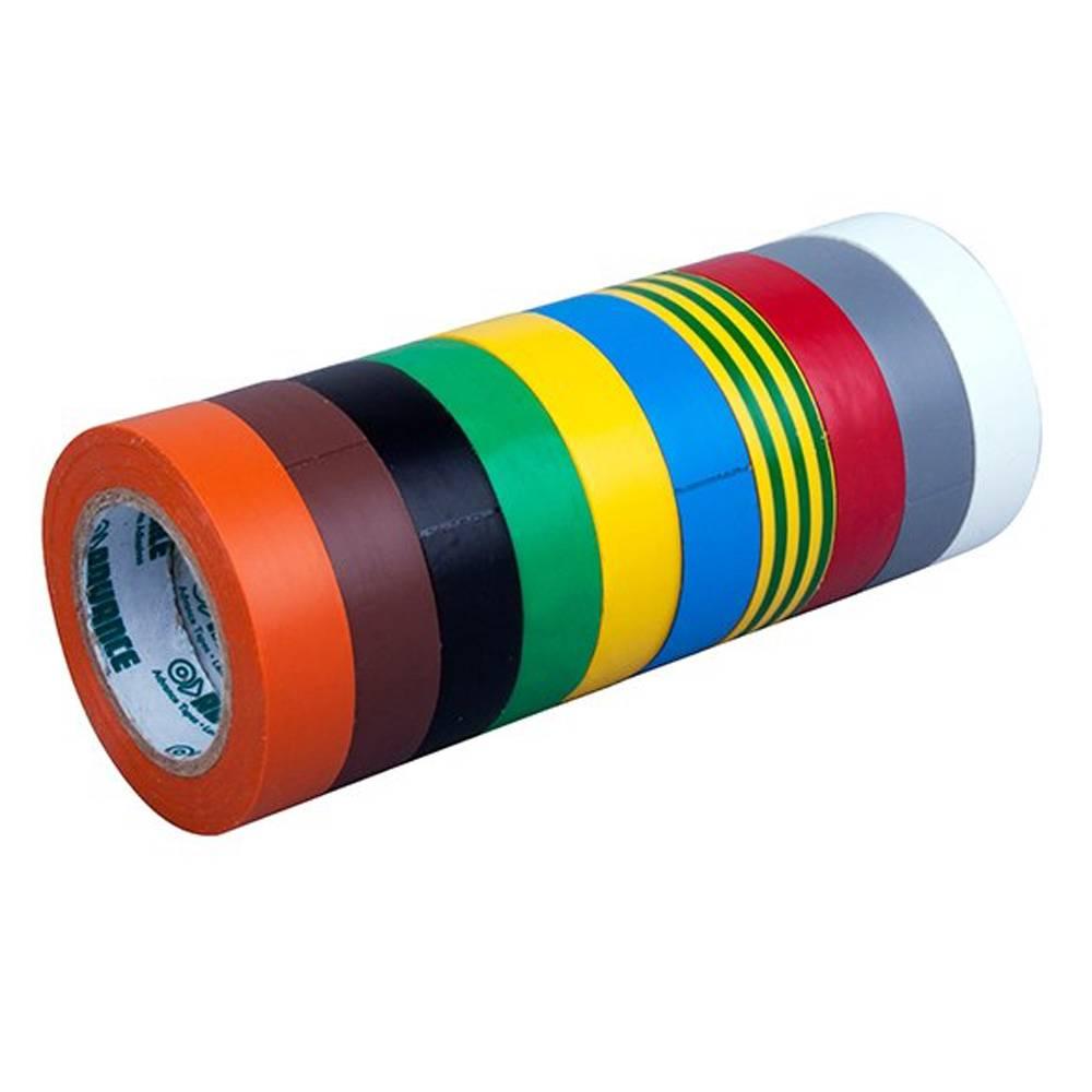 Image of Advance AT206 PVC tape set 15mm 10m (10 kleuren)