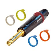 Neutrik PXR6 Kleurring voor jackplug blauw