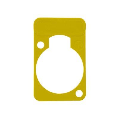 Neutrik DSS4 chassisdeel plaatje geel