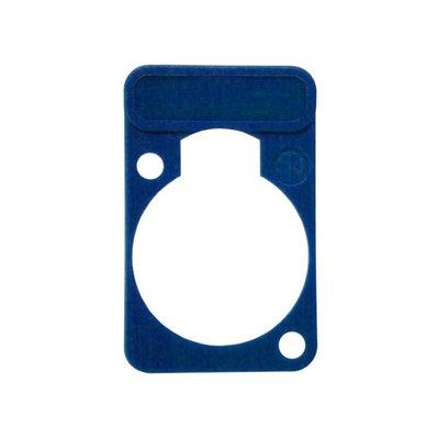 Neutrik DSS6 chassisdeel plaatje blauw