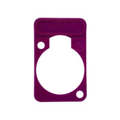 Neutrik DSS7 chassisdeel plaatje violet