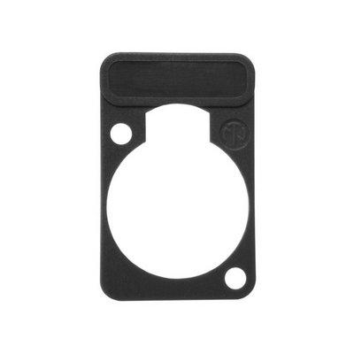 Neutrik DSS10 chassisdeel plaatje zwart