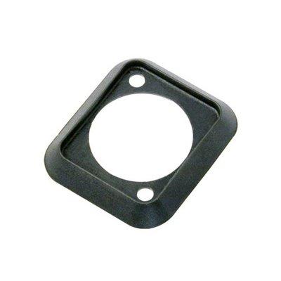 Neutrik SCDP-0 D-size kleurcode afwerkrand zwart