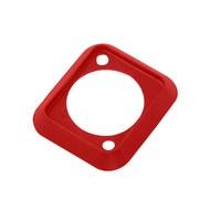 Neutrik SCDP-2 D-size kleurcode afwerkrand rood
