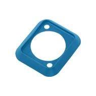 Neutrik SCDP-6 D-size kleurcode afwerkrand blauw