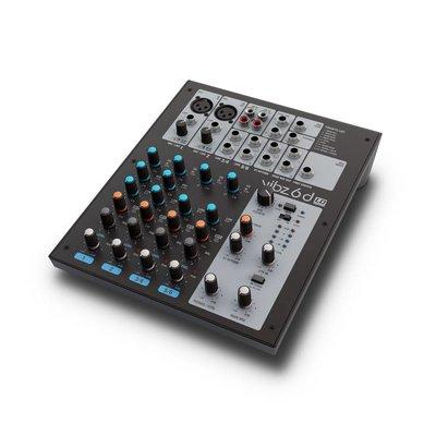 LD Systems VIBZ 6D 6-kanaals PA-mixer met effecten